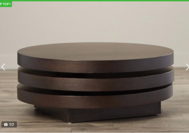 Trilogy Round Center Table (Reference: Fx063bb)